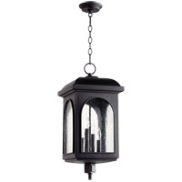 Quorum 7604-4-69 Fuller 4 Light 11 inch Noir Outdoor Hanging Lantern