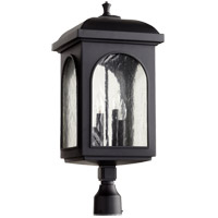 Quorum 7605-4-69 Fuller 4 Light 22 inch Noir Outdoor Post Lantern