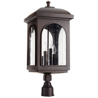 Fuller 22 inch Oiled Bronze Post Lantern