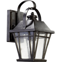 Quorum 764-6-95 Baxter 1 Light 12 inch Old World Outdoor Wall Lantern