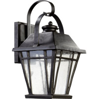 Quorum 764-8-95 Baxter 1 Light 16 inch Old World Outdoor Wall Lantern