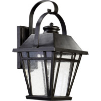 Quorum 764-9-95 Baxter 1 Light 18 inch Old World Outdoor Wall Lantern