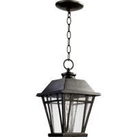 Baxter 1 Light 8 inch Old World Outdoor Hanging Lantern