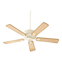Quorum 76525-70 Barclay 52 inch Persian White with Distressed Weathered Pine Blades Ceiling Fan