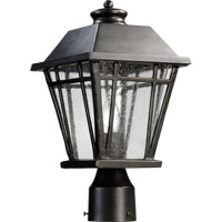 Quorum 766-8-95 Baxter 1 Light 15 inch Old World Post Lantern