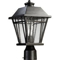 Quorum 766-8-95 Baxter 1 Light 15 inch Old World Post Lantern