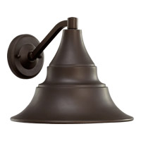 Quorum 767-11-86 Sombra 1 Light 9 inch Oiled Bronze Outdoor Wall Lantern