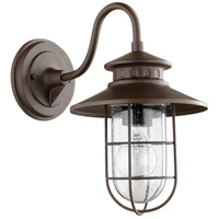 Moriarty 1 Light 13 inch Oiled Bronze Outdoor Wall Lantern, Small