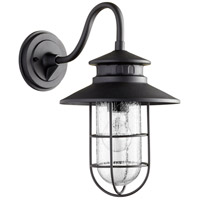 Moriarty 1 Light 16 inch Noir Outdoor Wall Lantern, Medium