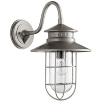 Quorum 7698-3 Moriarty 1 Light 19 inch Graphite Outdoor Wall Lantern Large