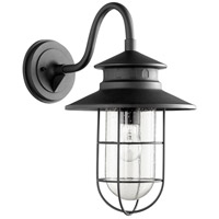 Moriarty 1 Light 19 inch Noir Outdoor Wall Lantern, Large