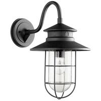 Quorum 7698-69 Moriarty 1 Light 19 inch Noir Outdoor Wall Lantern Large