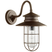 Moriarty 1 Light 19 inch Oiled Bronze Outdoor Wall Lantern, Large