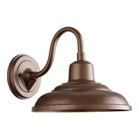 Signature 1 Light 11 inch Oiled Bronze Outdoor Wall Mount
