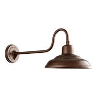 Quorum 771-86 Signature 1 Light 11 inch Oiled Bronze Outdoor Wall Mount