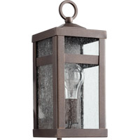 Clermont 1 Light 12 inch Oiled Bronze Outdoor Wall Lantern