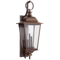 Quorum 7730-3-86 Pavilion 31 inch Oiled Bronze Outdoor Wall Lantern