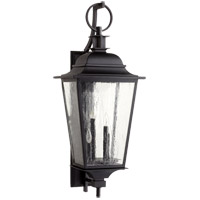 Pavilion 4 Light 36 inch Noir Outdoor Wall Lantern