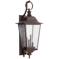 Quorum 7730-4-86 Pavilion 36 inch Oiled Bronze Outdoor Wall Lantern