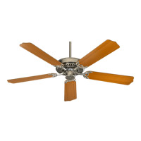 Quorum International Capri Ceiling Fan (Blades Not Included) in Satin Nickel 77420-65
