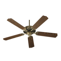 Capri I 42 inch Antique Brass with Medium Oak Blades Ceiling Fan