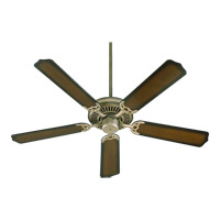 Capri I 52 inch Antique Flemish Ceiling Fan in Blades Sold Separately, Light Kit Not Included
