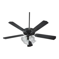 Quorum International Capri V 4 Light Ceiling Fan in Old World 77520-8195