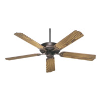 Quorum International Capri I Ceiling Fan (Blades Not Included) in Corsican Gold 77520-88