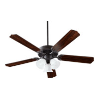 Quorum 77525-1695 Capri VI 52 inch Old World Ceiling Fan in Faux Alabaster, 4, Medium