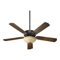 Capri IV 52 inch Toasted Sienna Ceiling Fan in Amber Scavo, 3, Candelabra