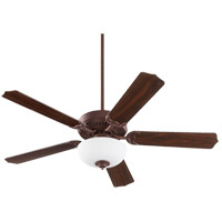 Quorum 77525-9044 Capri III Toasted Sienna with Reversible Toasted Sienna and Walnut Blades Indoor Ceiling Fan