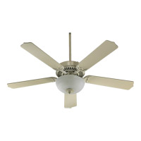 Capri III Antique White Ceiling Fan