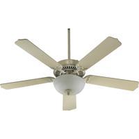 Quorum 77525-9267 Capri III Antique White Ceiling Fan