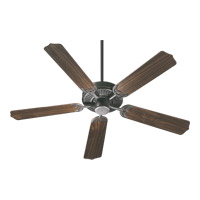 Quorum 77525-95 Capri I 52 inch Old World with Rosewood Blades Ceiling Fan in Light Kit Not Included
