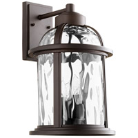 Quorum 7760-4-86 Winston 4 Light 18 inch Oiled Bronze Outdoor Wall Lantern