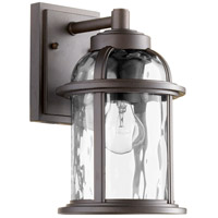 Quorum 7760-86 Winston 1 Light 12 inch Oiled Bronze Outdoor Wall Lantern
