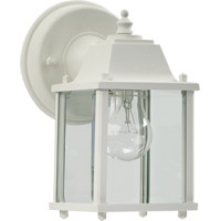Quorum 780-6 Signature 1 Light 9 inch White Outdoor Wall Lantern