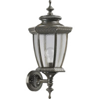 Quorum 7802-45 Baltic 1 Light 21 inch Baltic Granite Outdoor Wall Lantern