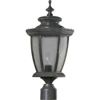 Quorum 7806-45 Baltic 1 Light 20 inch Baltic Granite Post Lantern