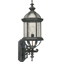 Quorum 7812-45 Signature 1 Light 27 inch Baltic Granite Outdoor Wall Lantern