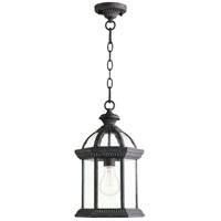 Quorum 7815-45 Stelton 1 Light 9 inch Baltic Granite Outdoor Hanging Lantern