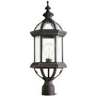 Quorum 7816-45 Stelton 1 Light 24 inch Baltic Granite Post Lantern