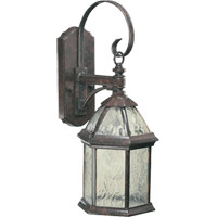 Weston 1 Light 20 inch Baltic Granite Outdoor Wall Lantern