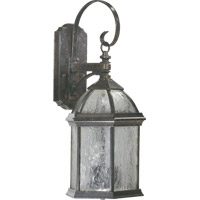 Weston 3 Light 23 inch Baltic Granite Outdoor Wall Lantern