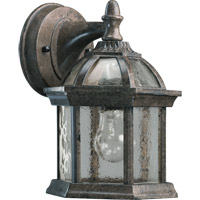 Weston 1 Light 9 inch Baltic Granite Outdoor Wall Lantern