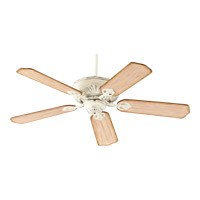 Chateaux 52 inch Persian White with Distressed Weathered Pine Blades Ceiling Fan in Light Kit Not Included