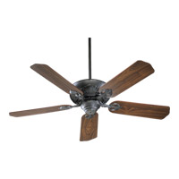 Quorum International Chateaux Ceiling Fan in Charcoal 78525-93