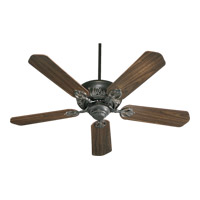 Quorum 78525-95 Chateaux 52 inch Old World with Rosewood Blades Ceiling Fan in Light Kit Not Included