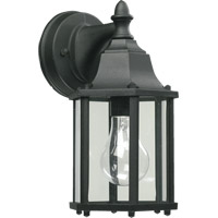Signature 1 Light 11 inch Black Outdoor Wall Lantern