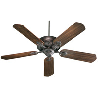 Chateaux 60 inch Toasted Sienna with Toasted Sienna and Walnut Blades Indoor Ceiling Fan